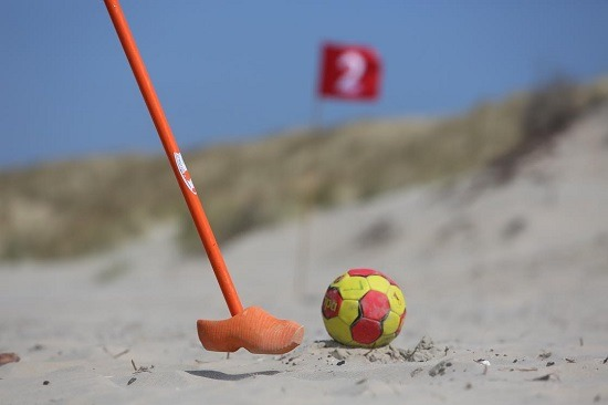 Farmers Beach Golf, Beach Golf, Firmenausflug Scheveningen, Kijkduin, Ecke Holland Farm Beach Golf Golf am Strand, Beach Golf2