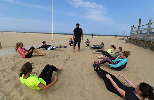 Scheveningen boot camp