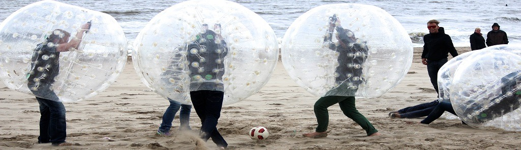 Bubble footbal en Bumperz