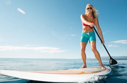 Suppen / Standup paddle boarden